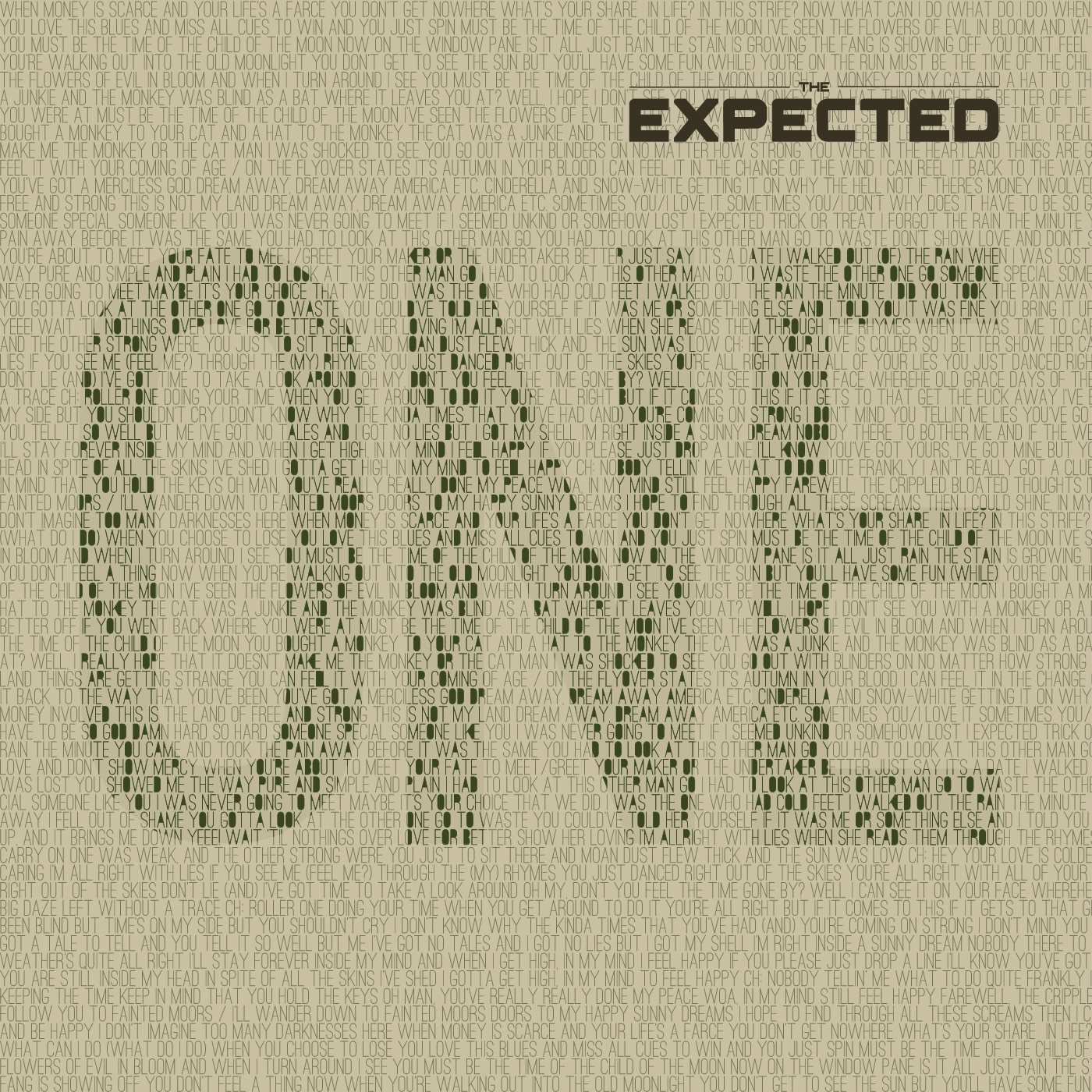 The Expected - one album cover